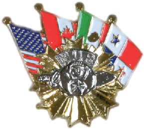 Flags Pin