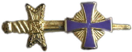 Bronze-Colored Pin