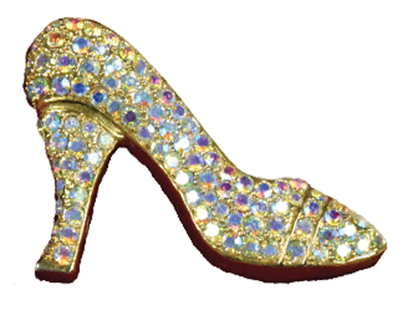 Bedazzled Shoe Pin